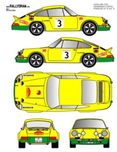 Porsche 911 Fernandez Catalunya 1976