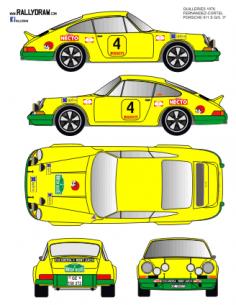 Porsche 911 Fernandez Guilleries 1976