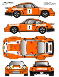Porsche 911 Etchebers Vasco Navarro 1976