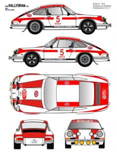 Porsche 911 Gargallo Bosch 1972
