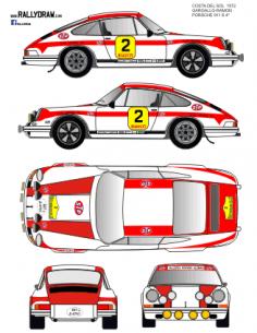 Porsche 911 Gargallo Costa del Sol 1972
