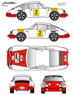 Porsche 911 Lencina Sherry 1972