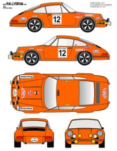 Porsche 911 Etchebers Firestone 1973