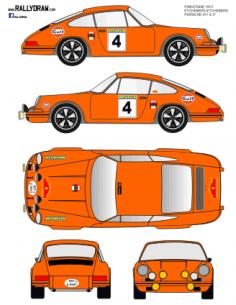 Porsche 911 Etchebers Vasconavarro 1973