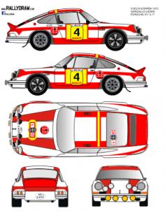 Porsche 911 Gargallo Vuelta a España 1973