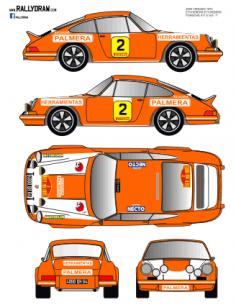 Porsche 911 Etchebers 2000 Virajes 1974