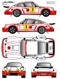 Porsche 911 Gargallo 500km 1974