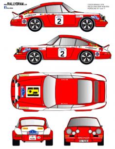 Porsche 911 Haldi Costa Brava 1974
