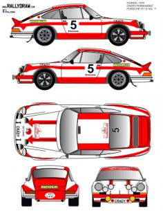 Porsche 911 Crady Oviedo 1974