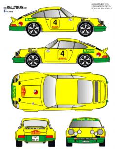 Porsche 911 Fernandez 2000 Virajes 1975