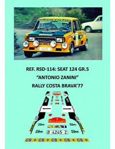 Seat 124 Gr.5 Zanini Catalunya 1977