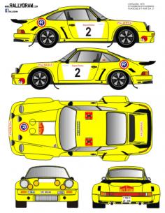 Porsche 911 Catalunya Etchebers 1975