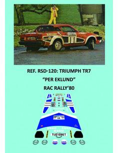 Triumph TR7 Eklund RAC 1980