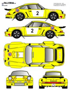 Porsche 911 Etchebers Costa del Sol 1975