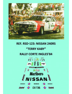 Nissan 240RS Kaby Corte Ingles 1984