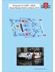 Porsche 911 RSR - IMSA Road Atlanta Petit Le Mans 2018