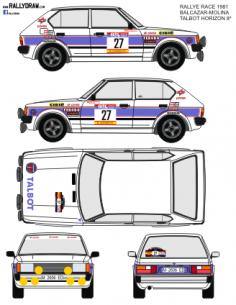 Talbot Lotus Balcazar Race 1981