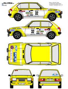 Talbot Horizon Juvanteny Sachs 1981