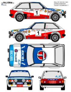 Talbot Lotus Zanini Sachs 1981
