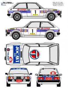 Talbot Lotus Zanini CS 1982