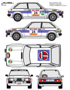 Talbot Lotus Herrero Race 1982