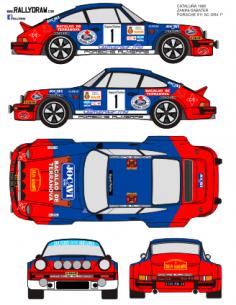 Porsche 911 Zanini Catalunya 1980