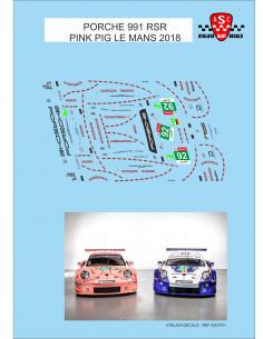 Porsche 911 RSR - Pink Pig Le Mans 2018