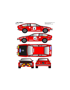 Alfa Romeo Gtv Andruet Costa Brava 1975
