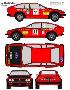 Alfa Romeo Gtv Pregliasco Costa Brava 1979