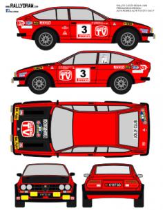 Alfa Romeo Gtv Pregliasco Costa Brava 1980
