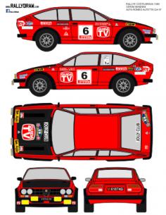 Alfa Romeo Gtv Verini Costa Brava 1980