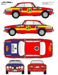 Alfa Romeo Caba 2000 Virajes 1975