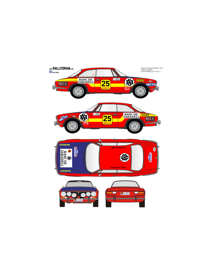 Alfa Romeo Caba Costa Brava 1976