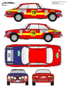 Alfa Romeo Caba Guilleres 1976