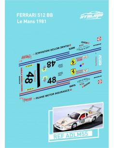 Ferrari 512 BB Le Mans 1981