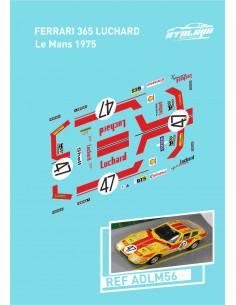 Ferrari 365 Luchard Le Mans 75