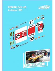 Ferrari 365 JCB Le Mans 1973
