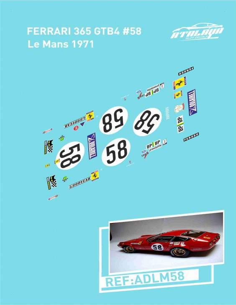 Ferrari 365 GTB Le Mans 1971