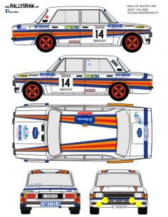 Seat 1430-124 Sousa Sachs 1981