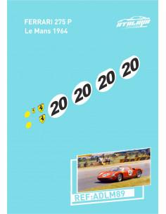 Ferrari 275 P Le Mans 1964