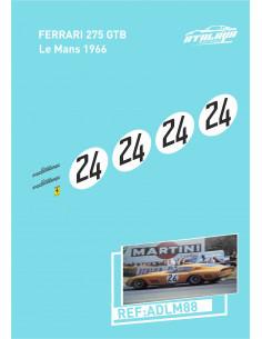Ferrari 275 GTBL Le Mans 1964