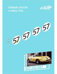 Ferrari 275 GB4 Le mans 1966