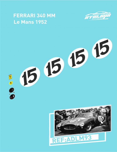 Ferrari 330 S Le Mans 1957