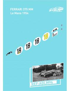 Ferrari 375 MM Le Mans 1954
