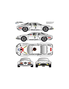 Renault Alpine a110 Pradera Rioja 1976