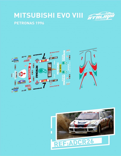 Mitsubishi Lancer EvoIII Petronas 1996