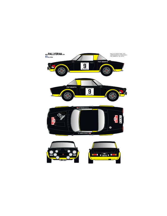 Fiat 124 Abarth Jaroscevick Firestone 1976