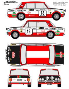 Fiat 125 Stawowiak Firestone 1975