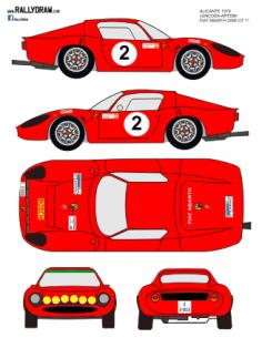 Fiat Abarth 1300 OT Juncosa 500km 1970