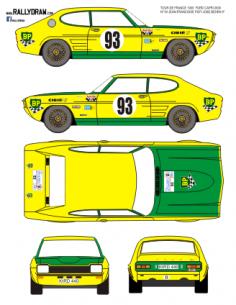 Ford Capri Piot Tour Auto 1969